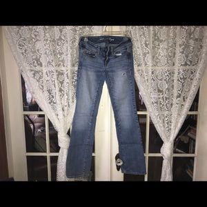 American Eagle Slim Boot Stretch Fade Jeans (0)